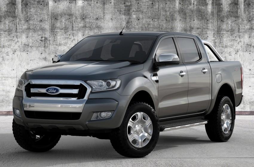 Ford Ranger 2015 sẽ ra mắt ở Thái Lan vào cuối tháng 3