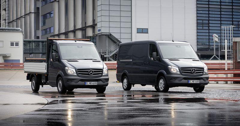 Mercedes đầu tư 500 triệu đô cho xe van thương mại Sprinter