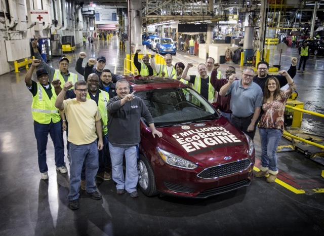 Ford xuất xưởng động cơ EcoBoost thứ 5 triệu
