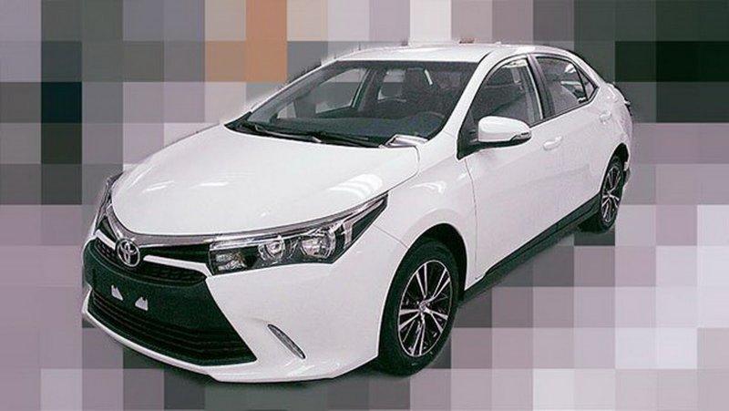 Lộ ảnh bản nâng cấp Corolla Altis dành cho thị trường châu Á