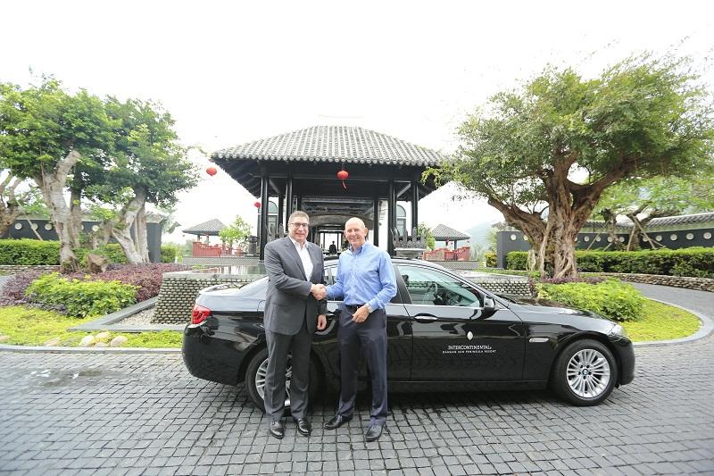 Euro Auto bàn giao xe BMW 520i cho InterContinental Sun Peninsula Đà Nẵng