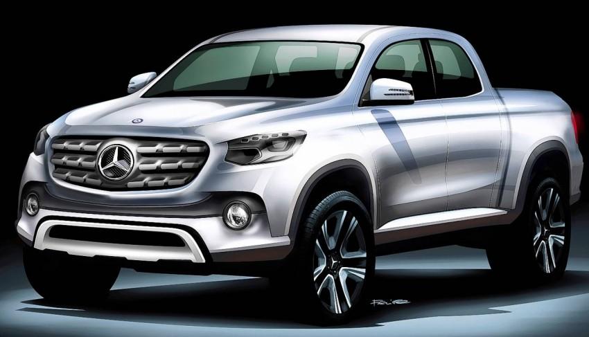 Mercedes-Benz phát triển xe bán tải hạng sang
