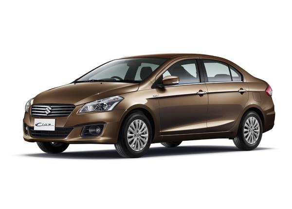 Suzuki mang Ciaz đến Thái Lan