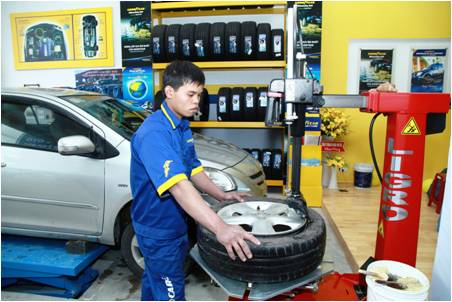Goodyear khai trương thêm 2 Autocare tại Sóc Trăng và Quảng Bình