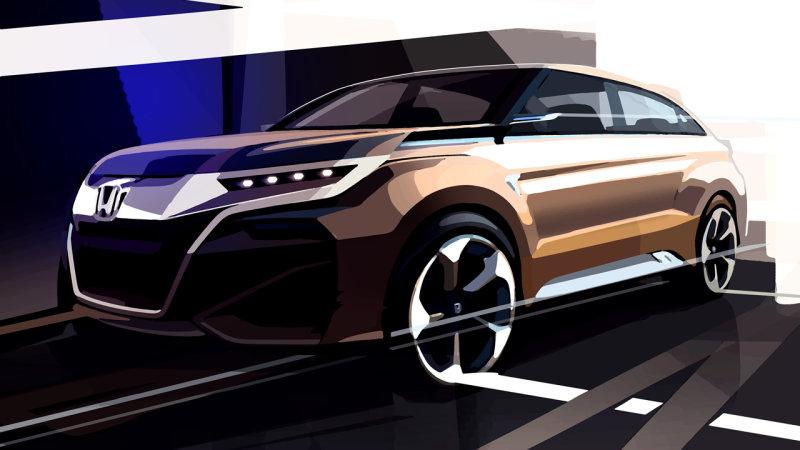 Honda tung ra xe ý tưởng mới cho Thượng Hải