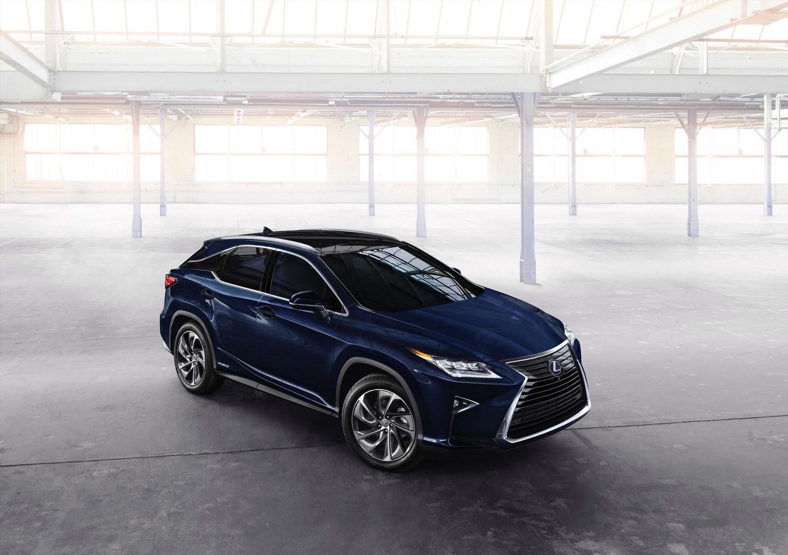 New York Auto Show 2015: Lexus RX 2016 ra mắt