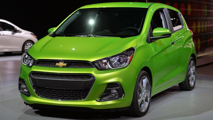 New York Auto Show 2015: Chevrolet giới thiệu bé hạt tiêu Spark 2016