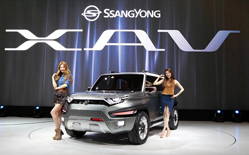 SsangYong và nỗ lực hồi sinh bằng XAV concept