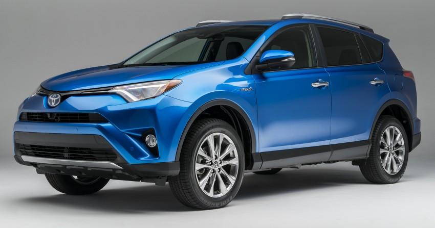 Toyota RAV4 2016 hăm he thống trị SUV cỡ nhỏ