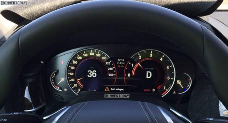 BMW 7-Series 2016 lộ diện bảng điều khiển 2 phong cách