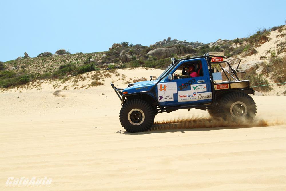 Chung cuộc Giải đua xe địa hình trên cát tại Ninh Thuận