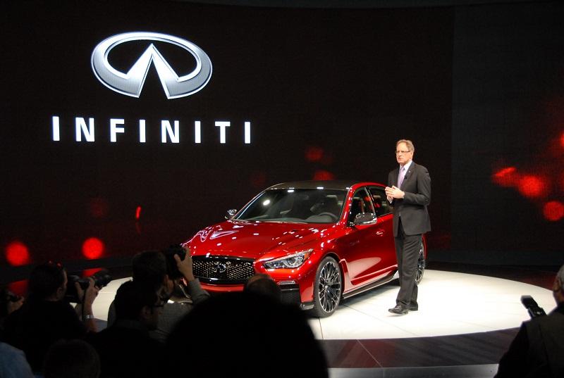Infiniti xác lập kỷ lục doanh số toàn cầu trong quý I/2015