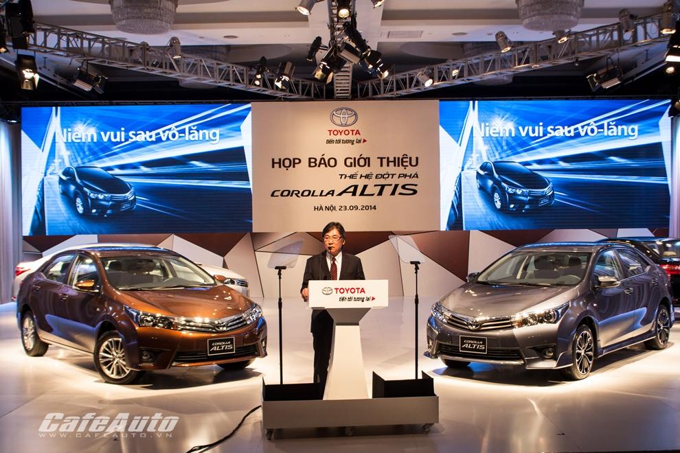 Toyota Việt Nam bán 10.872 xe trong 3 tháng đầu năm