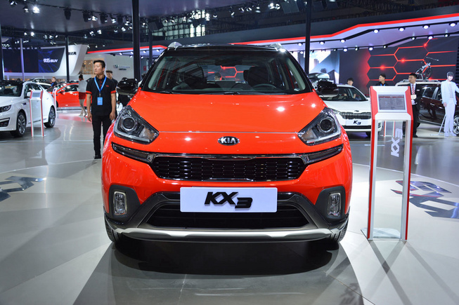 KX3 - Crossover mới của Kia