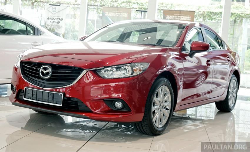Mazda6 facelift lặng lẽ cập bến Đông Nam Á