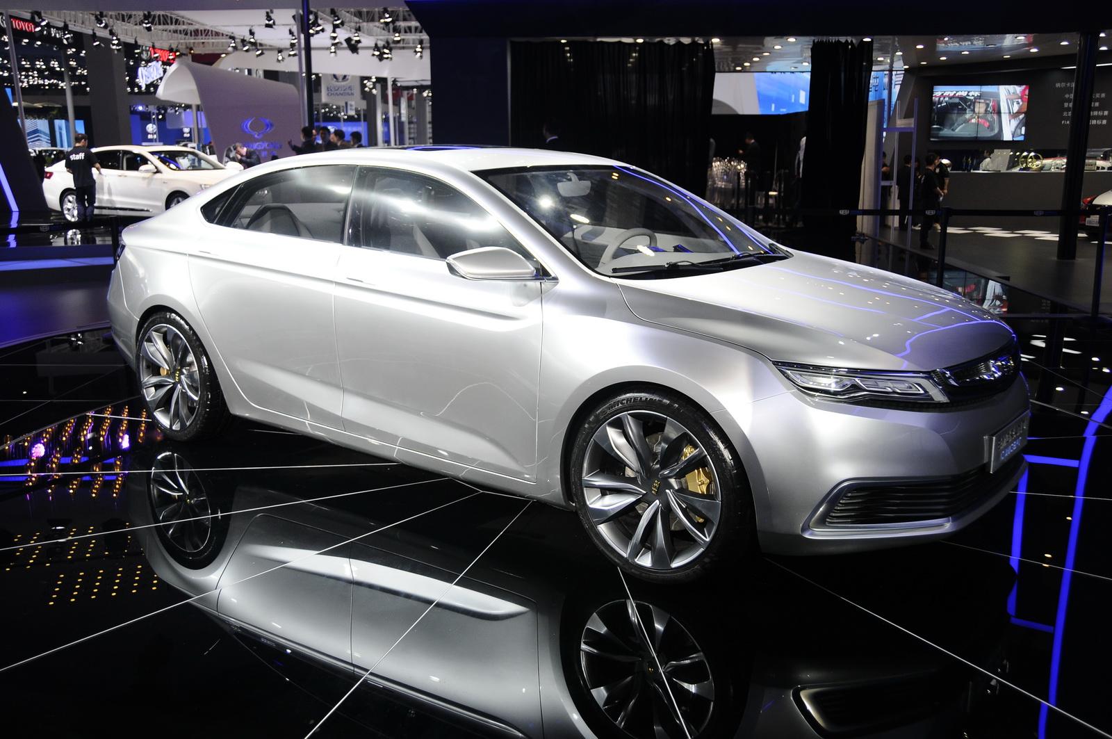 Xe Trung Quốc lột xác với thiết kế Châu Âu