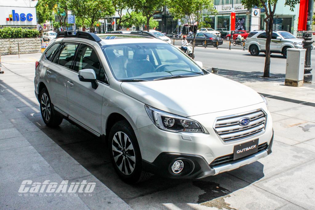 Subaru Outback 2015 chính thức có mặt tại Sài Gòn