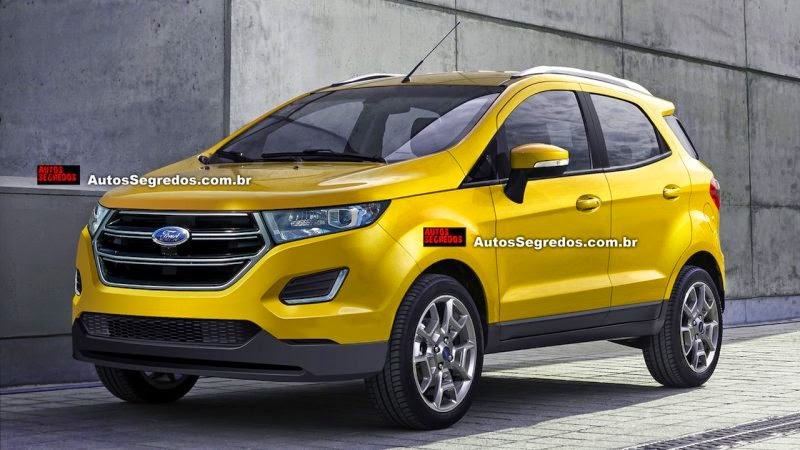 Lộ diện Ford EcoSport Facelift 2017