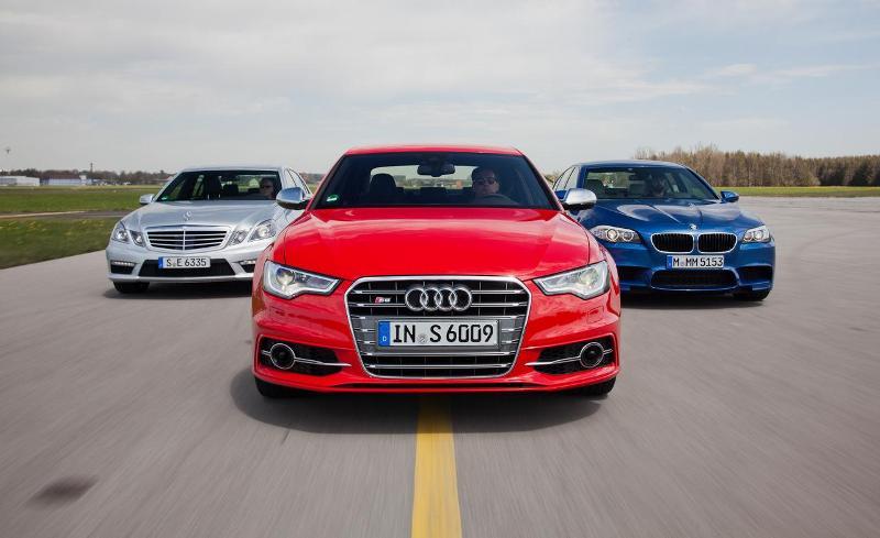 Audi đánh bại BMW và Mercedes-Benz