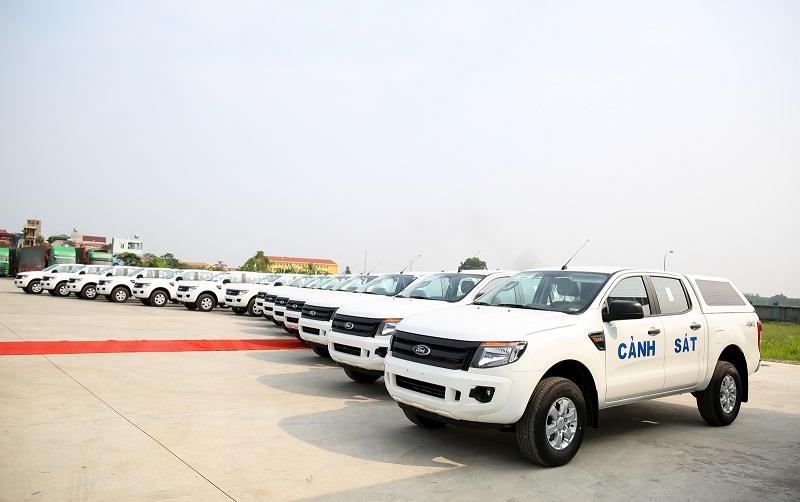 Ford Việt Nam bàn giao 75 xe Ranger XL cho Bộ Công An