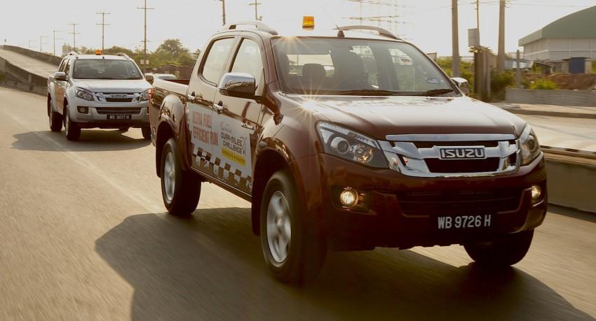 Isuzu D-Max chạy 1809 km chỉ hết một bình nhiên liệu