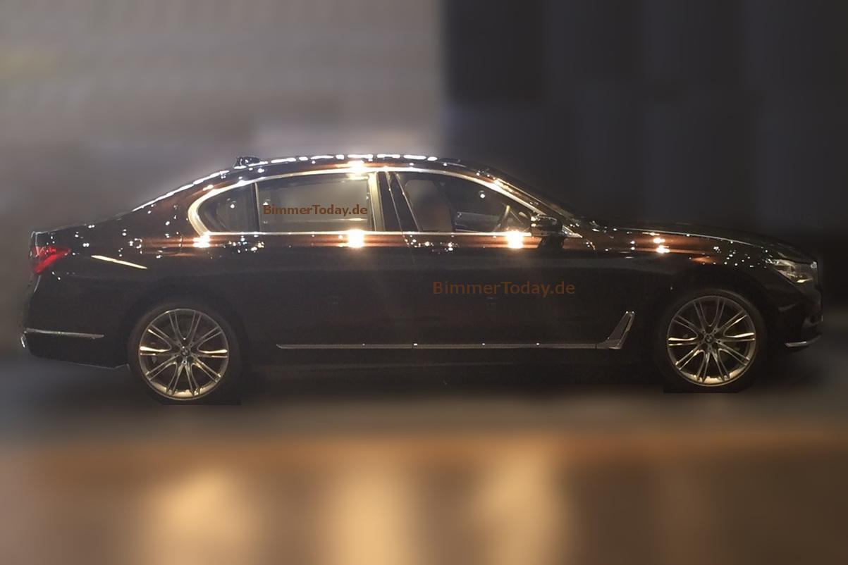 Lộ diện ngoại thất bóng bẩy của BMW series 7
