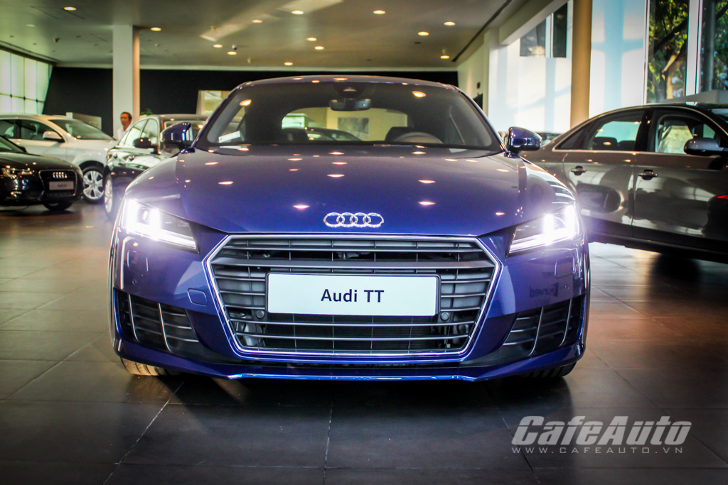 Soi Audi TT 2015 hoàn toàn mới tại Sài Gòn