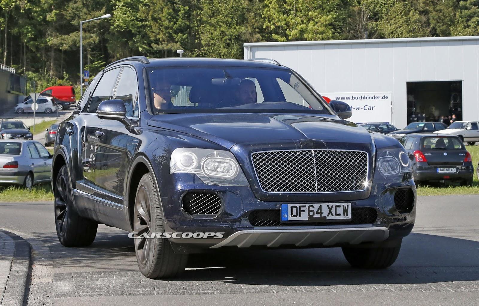 Bentley Bentayga lộ diện gần như hoàn toàn
