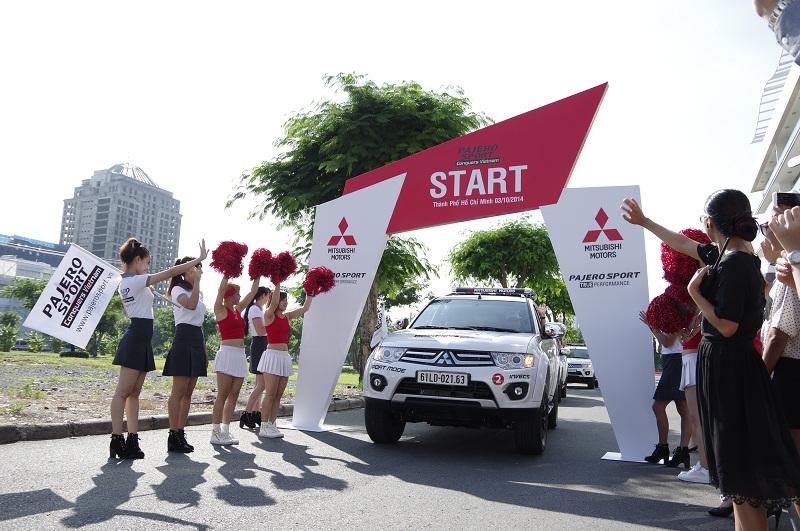 Khởi động Hành trình Pajero Sport chinh phục Việt Nam lần 2