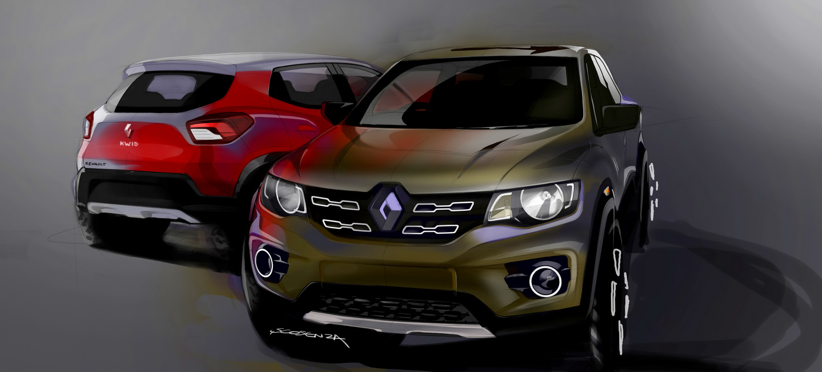 Renault Kwid, crossover Pháp giá 100 triệu đồng