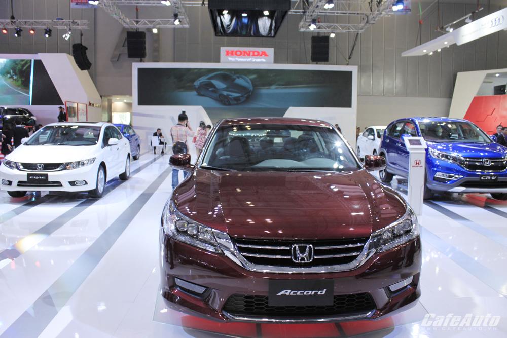 Honda thắng lớn trong năm tài chính 2015