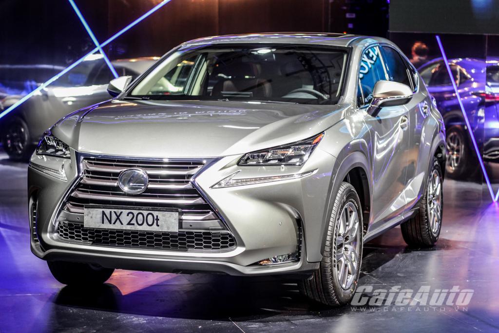 Soi Lexus NX200t vừa ra mắt