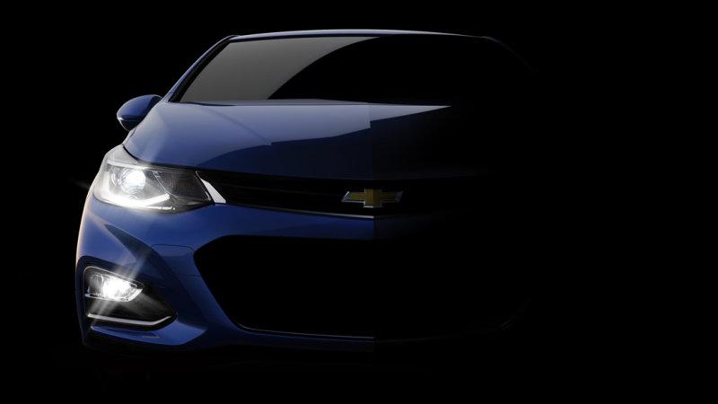 Chevrolet Cruze 2016 lộ hình ảnh đầu tiên