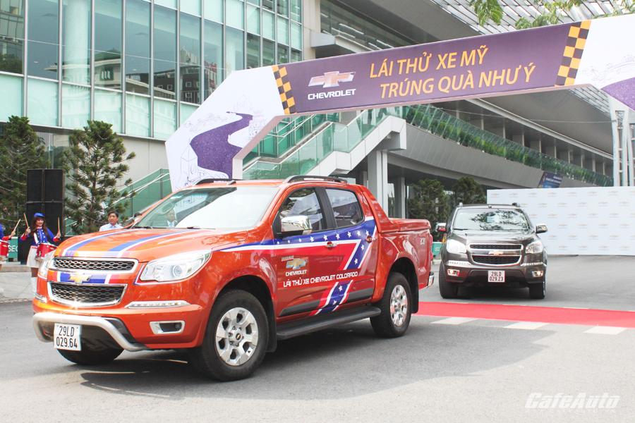 Chevrolet khởi động chương trình lái thử xe toàn quốc