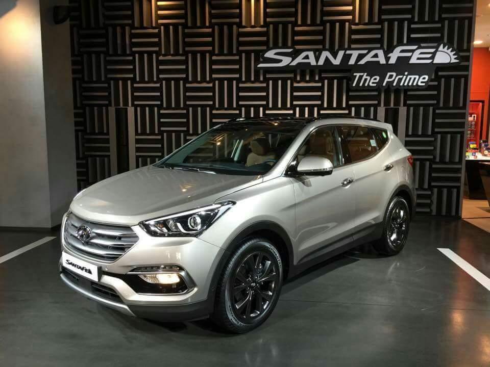 Hyundai Santa Fe 2016 chính thức ra mắt