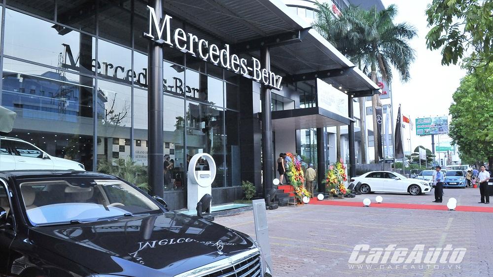 Mercedes-Benz  An Du ra mắt hệ thống nhận diện thương hiệu mới