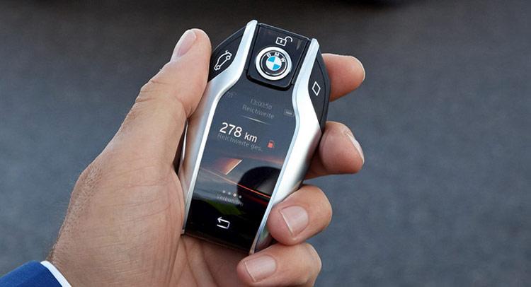BMW Series 7 thế hệ mới sở hữu chìa khóa công nghệ cao