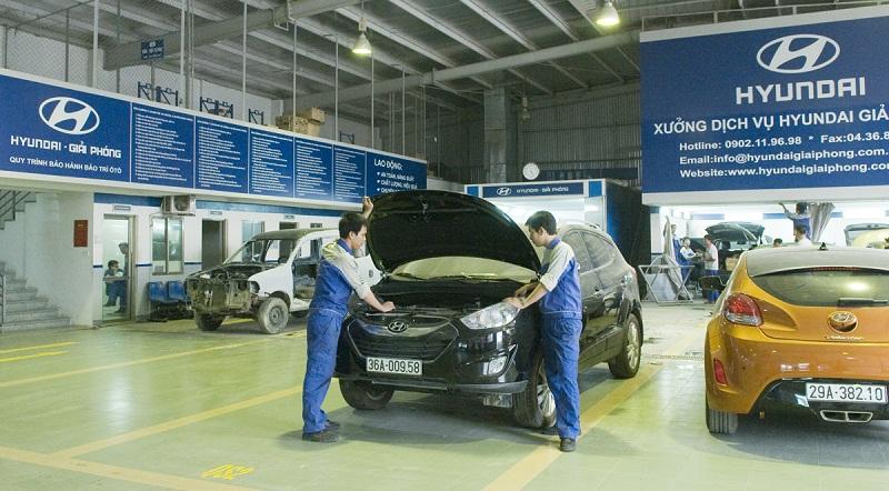 Hyundai Thành Công ưu đãi dịch vụ bảo dưỡng xe