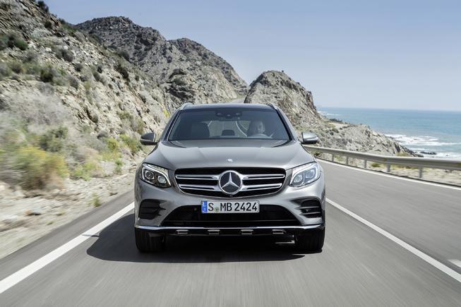 Mercedes GLC-Class chính thức ra mắt