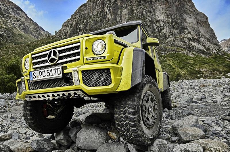 Siêu off-road Mercedes G500 giá từ 257,500 USD