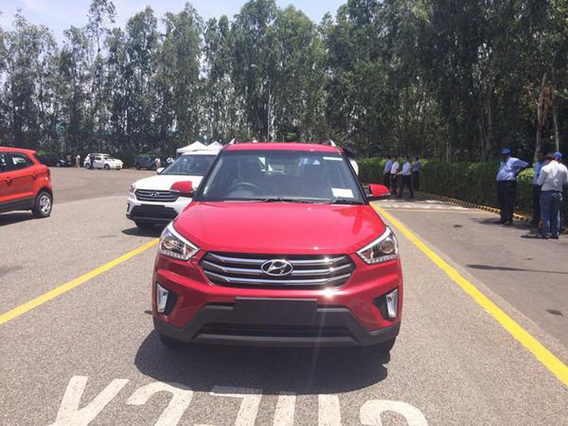 Hyundai Creta lộ hình ảnh thực tế
