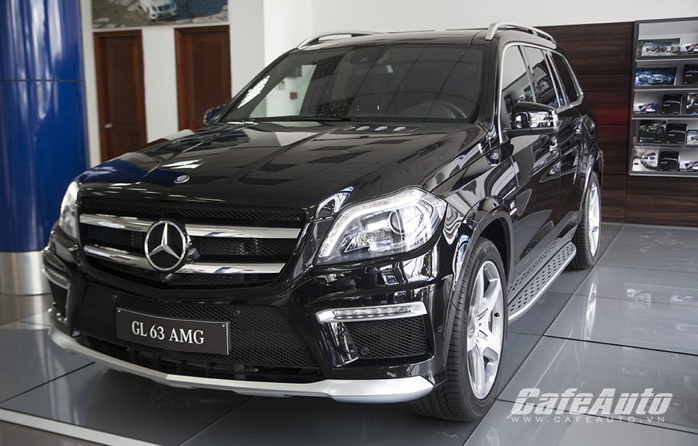Cận cảnh Mercedes-Benz GL 63 AMG 2015 giá 7,5 tỷ đồng tại Việt Nam