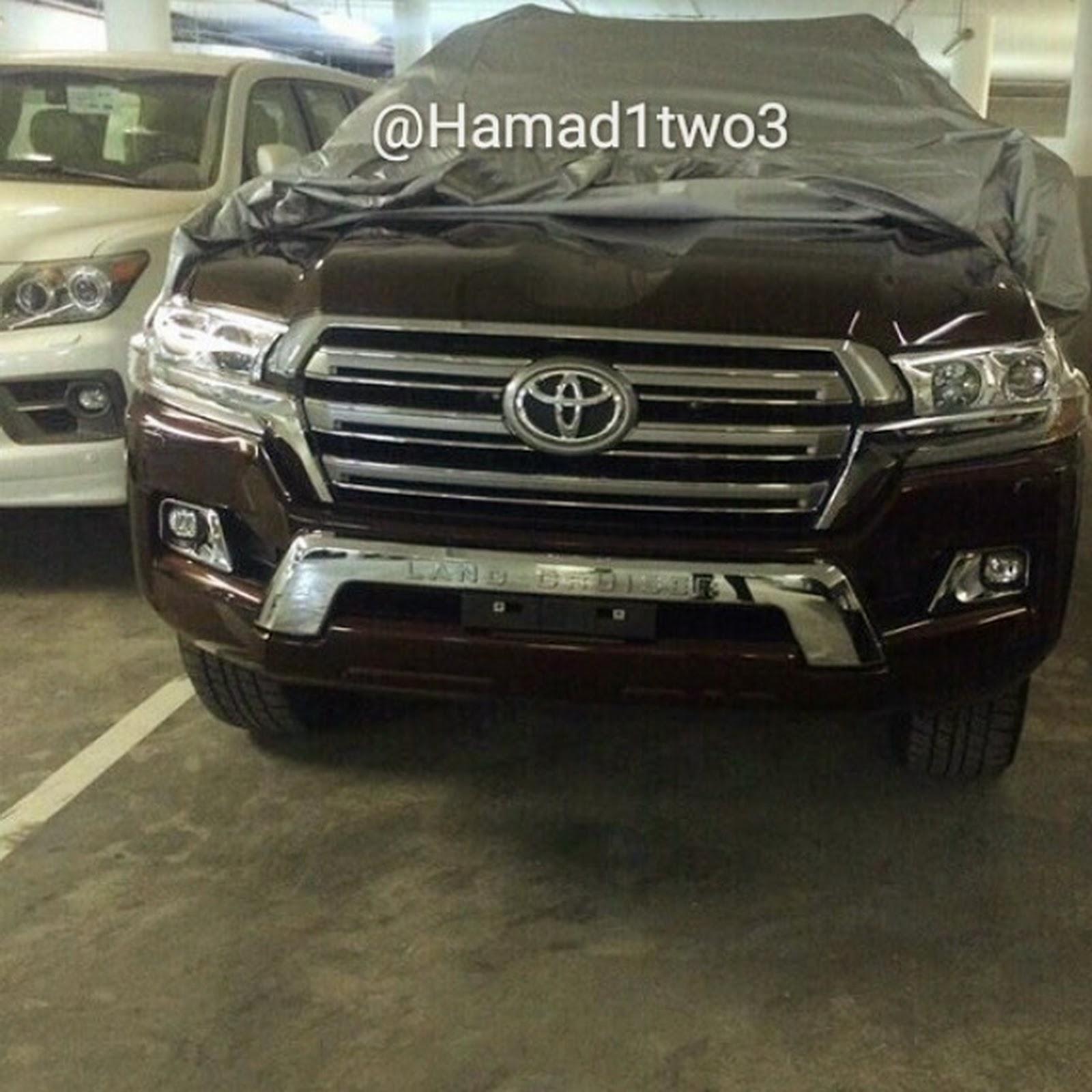 Toyota Land Cruser 2016 lộ ảnh trên Instaram