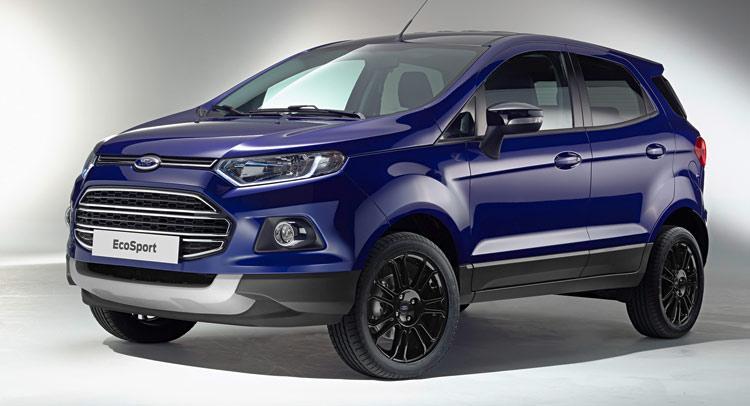 Ford quyết tâm vực dậy EcoSport tại châu Âu bằng phiên bản mới
