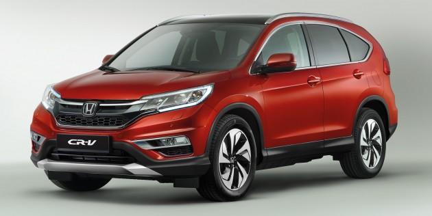 Honda CR-V 2017 sẽ lớn hơn, có 7 chỗ ngồi