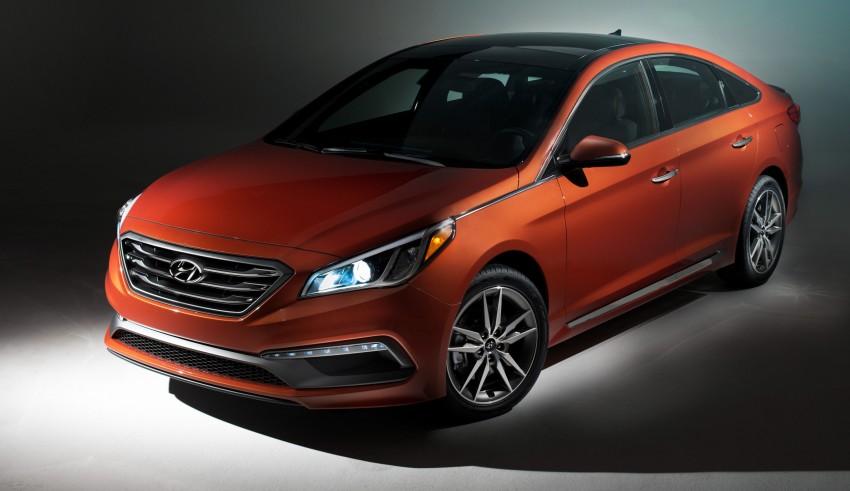 Hyundai triệu hồi 140.000 xe Sonata 2015 tại Bắc Mỹ