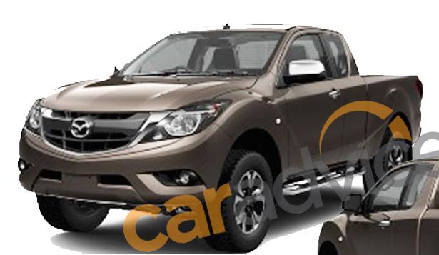 Lộ ảnh thật bán tải Mazda BT-50 thiết kế Kodo