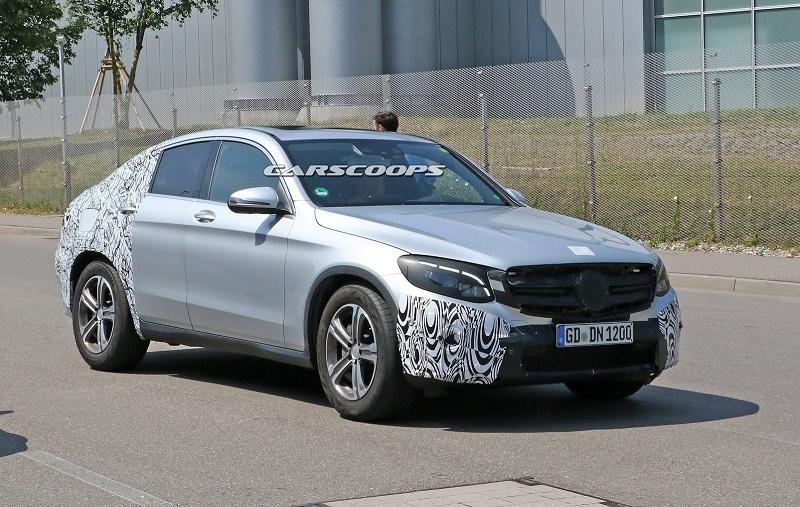 Mercedes-Benz  GLC Coupe đối thủ mới của BMW X4
