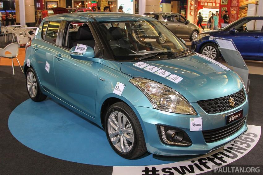 Suzuki Swift bản nâng cấp tại Malaysia có giá từ 285 triệu đồng