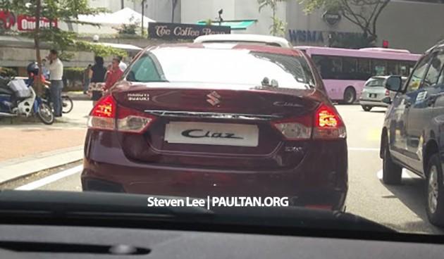 Xe giá rẻ Suzuki Ciaz lộ diện tại Malaysia